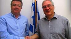 Prof. Helmbrecht meets Crete's Regional Governor
