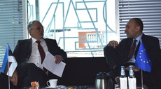 The Executive Directors of eu-LISA and ENISA met in Tallinn to agree on areas of cooperation