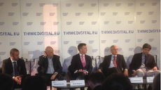 Udo Helmbrecht speaks about the need for a strong cybersecurity environment at Think Digital Summit