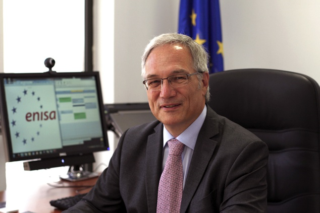 """Udo Helmbrecht speaks on the """"NIS directive and European security-related projects"""" at Vis!T 2014"""