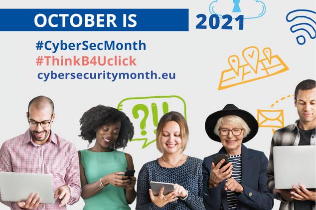 Unire per aumentare la consapevolezza sulle minacce informatiche: mese europeo della cibersicurezza 2021