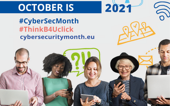 Uniting to raise awareness on Cyber Threats: European Cybersecurity Month 2021