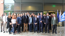 Visit to ENISA by the Agency's Management Board Chair and Vice-Chair