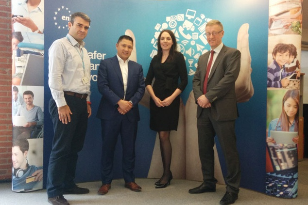 Visit by Privacy and Security manager at Alliander to ENISA