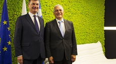 Visit of EC VP Ansip at the EU cybersecurity Agency in Greece