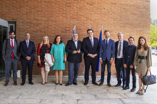 ENISA welcomes Minister Pierrakakis